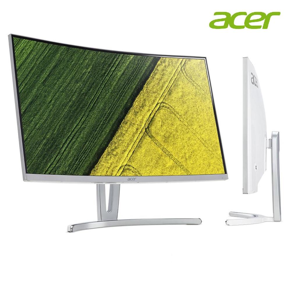 "Acer ED273A (curve) White - 27"" VA 4ms 144Hz VGA+HDDMI+DP Vesa Freesync (Free DP+HDMI Cable)"