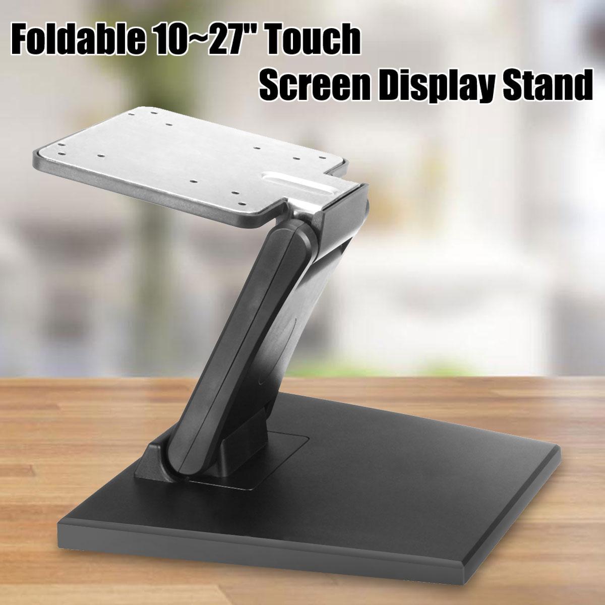 ( READY STOCK) Universal Dell Philips LG Anti-slip Holder Stand LCD Touchscreen Vesa 10-27 Monitor Mount POS PC Bracket